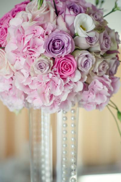 Centre de table mariage haut design floral bouquet romantique décoration florale mariage fleurs mariage fleuriste mariage aurelie lafond-doligniere fleurs d'un jour www.fleursdunjour.fr