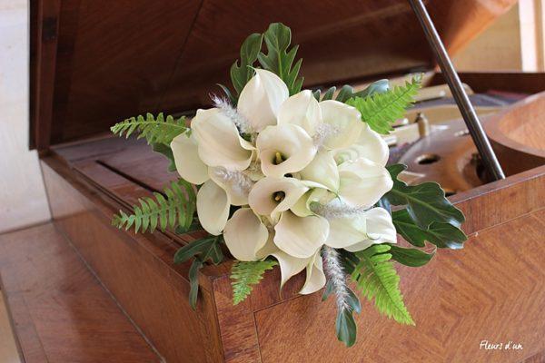 Bouquet de mariée Chateau de Vallery Décoration mariage Décoration florale mariage Fleurs mariage Fleurs d'un jour