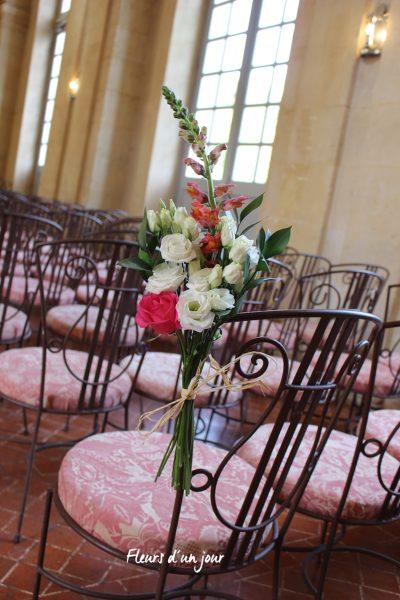 Bout de banc mariage, Cérémonie mariage, houppa, décoration florale, décoration mariage, fleurs mariage, fleuriste mariage, fleuriste , château de Vallery, fleurs d'un jour Houppa au chateau de Vallery Mariage juif au chateau de Vallery Houppa grande galerie