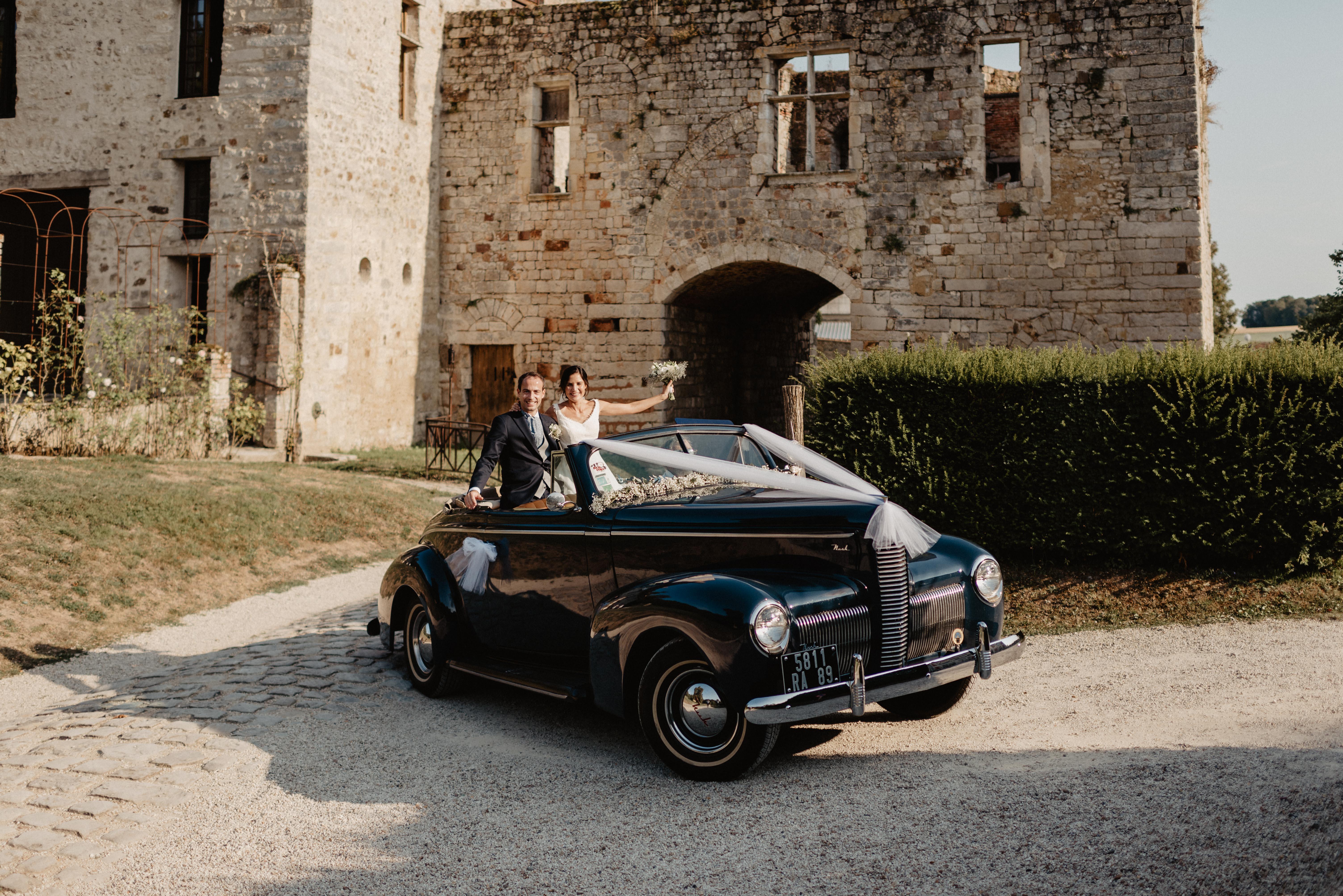 Mariage château de Vallery, www.fleursdunjour.fr