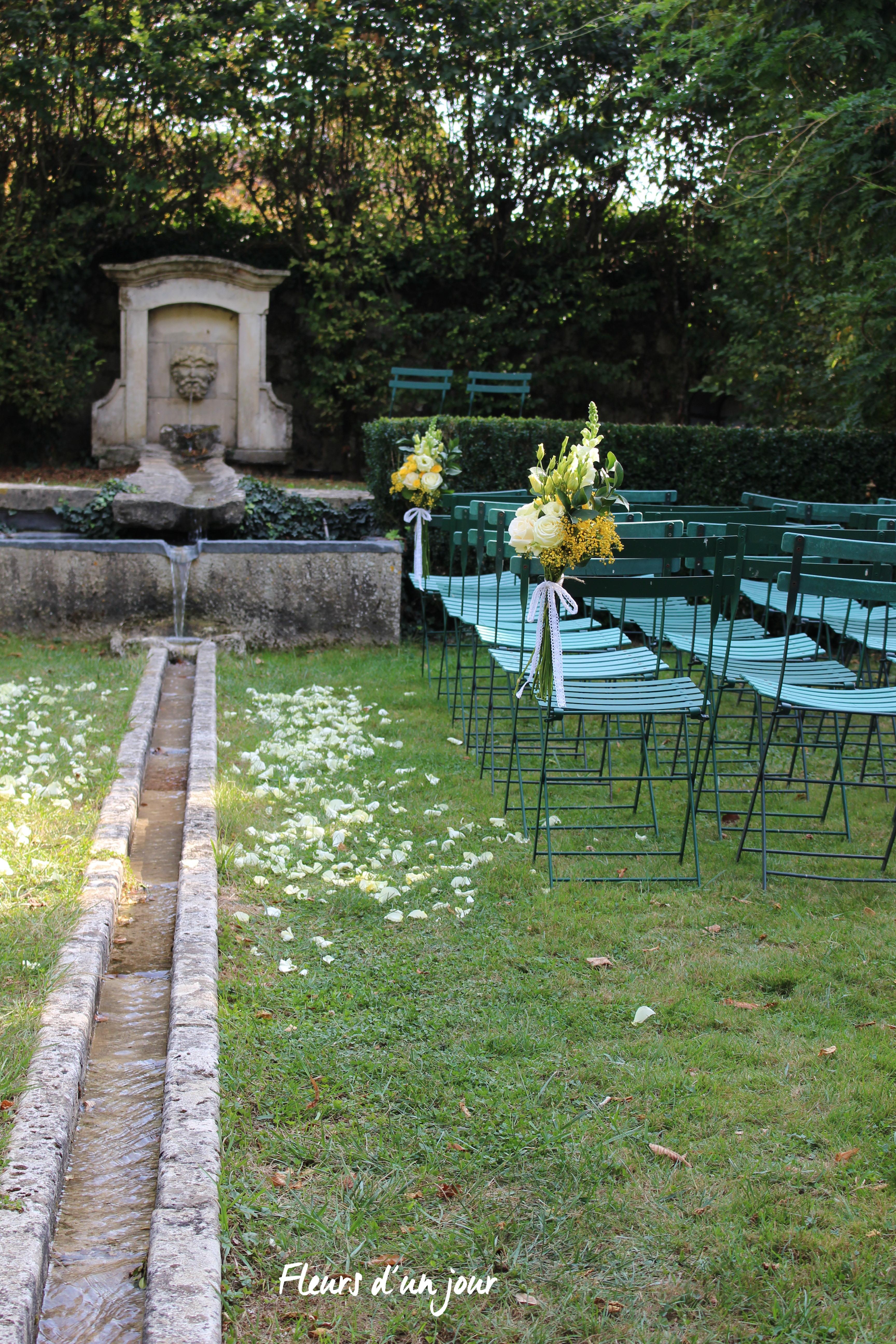 mariage au château de Vallery