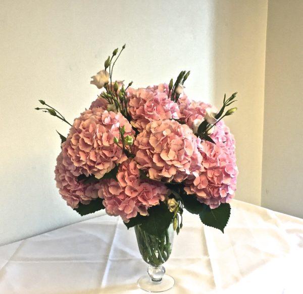 Composition florale buffet