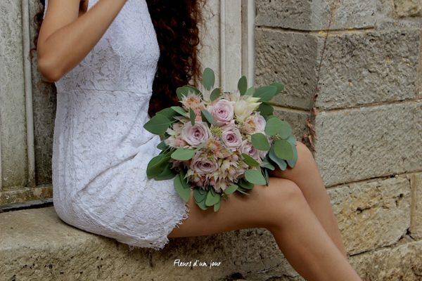 bouquet de mariée, écuries du gatinais, décoration florale, mariage, fleurs d'un jour