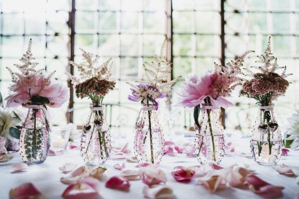 Mariage au château de Vallery fleurs d'un jour