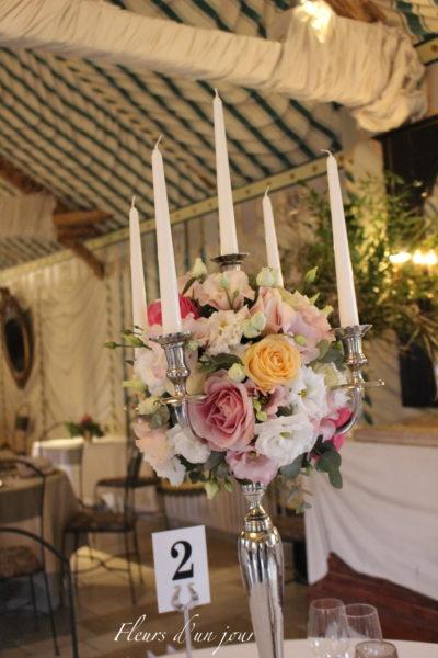candélabre mariage